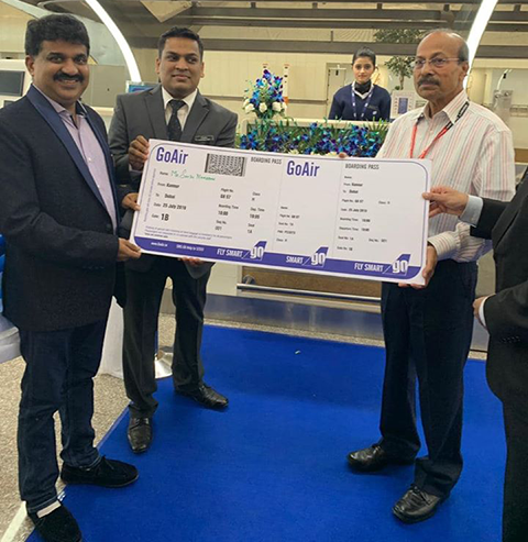 First Go Air Ticket from Kannur International Airport