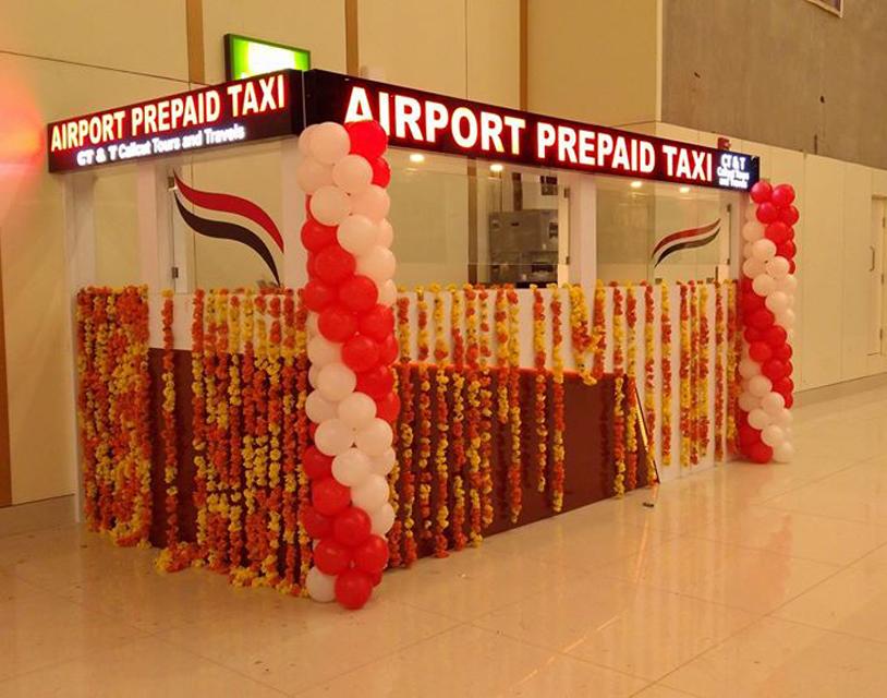 Kannur International Airport Prepaid Taxi Counter